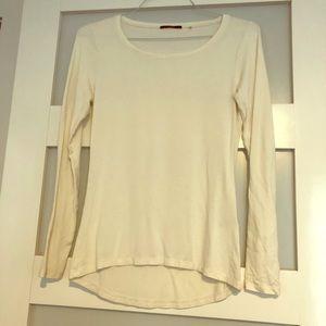Women's Tahari Long-Sleeve Top - White - S